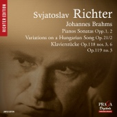 Album artwork for BRAHMS. Piano Sonatas Nos.1 & 2, Variation Op.21.