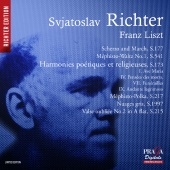 Album artwork for LISZT. Piano Works. Richter (SACD)