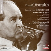 Album artwork for BEETHOVEN. Triple Concerto, Violin Concerto. Oistr