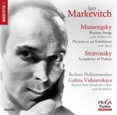 Album artwork for MUSSORGSKY. Russian Songs. Berlin PO/Markevitch (S
