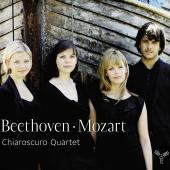 Album artwork for Beethoven, Mozart: String Quartets / Chiaroscuro