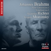 Album artwork for BRAHMS. Piano Concerto No.2. Richter (SACD)