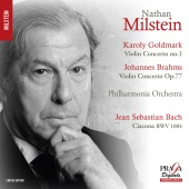 Album artwork for GOLDMARK. Violin Concerto. Milstein/Philharmonia (