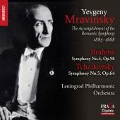 Album artwork for BRAHMS & TCHAIKOVSKY. Symphonies. Mravinsky