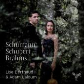 Album artwork for Lise Berthaud: Schumann, Schubert, Brahms