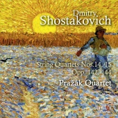 Album artwork for SHOSTAKOVICH. String Quartets Nos.14 & 15. Prazak