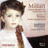Album artwork for Mozart: Clarinet Quintet, Weber: Clarinet Quintet