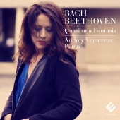 Album artwork for BACH. BEETHOVEN. Quasi una fantasia. Vigoureux