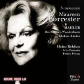 Album artwork for Mahler: Lieder (Maureen Forrester)
