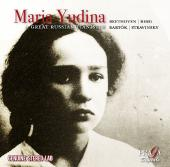 Album artwork for Maria Yudina - Beethoven, Bartok, Berg, Stravinsky