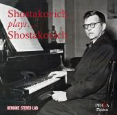 Album artwork for Shostakovich plays Shostakovich