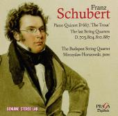 Album artwork for Schubert: Trout Quintet, Late Quartets