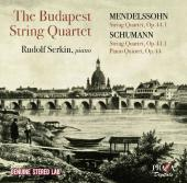 Album artwork for Budapest String Quartet - Mendelssohn & Schumann