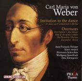 Album artwork for Weber: Invitation to the Dance, Overtures / Ancerl
