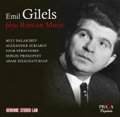 Album artwork for Gilels Plays Russian Music