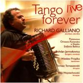 Album artwork for Richard Galliano: Tango Live Forever
