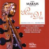 Album artwork for MARIN MARAIS 3RD BOOK OF PIECES FOR VIOLA