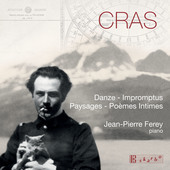 Album artwork for Cras: Piano Works