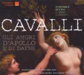 Album artwork for Cavalli: Gli Amori d'Apollo di Dafne
