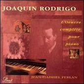 Album artwork for Rodrigo: Complete Piano Works / Ferlan