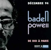 Album artwork for Baden Powell:  De Rio A Paris