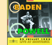 Album artwork for Baden Powell: Live In Montreux