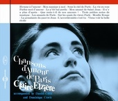 Album artwork for Chansons d'Amour de Paris - Claire Elziere