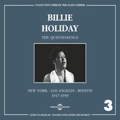 Album artwork for V3: BILLIE HOLIDAY 1947-59