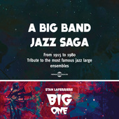 Album artwork for A BIG BAND JAZZ SAGA