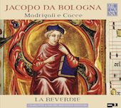 Album artwork for Jacopo da Bologna: Madrigali e Cacce