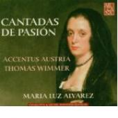 Album artwork for CANTADAS DE PASSION