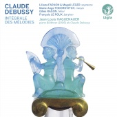 Album artwork for Debussy: Complete Songs. Faraon/Leger/Haguenauer