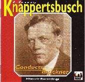 Album artwork for Knappertsbusch conducts Bruckner