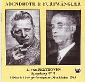 Album artwork for ABENDROTH & FURTWANGLER IN STOCKHOLM