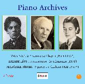 Album artwork for PIANO ARCHIVES