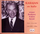 Album artwork for HERBERT VON KARAJAN EN ITALIE