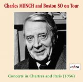 Album artwork for Charles Munch and the Boston S.O. on tour (Fance 1