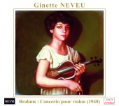 Album artwork for Brahms: Violin Concerto Op.77 / Neveu