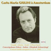 Album artwork for VIVALDI. Gloria. Concertgebouw Orchestra/Giulini