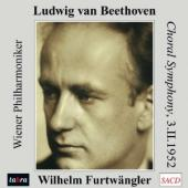 Album artwork for BEETHOVEN. Symphony No.9. Vienna PO/Furtwangler (S