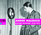 Album artwork for ANDRE MALRAUX - GRANS DISCOURS 1946-1973