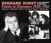 Album artwork for Bernard Dimey: Poésie et Chansons 1959-1961