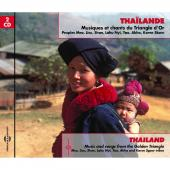 Album artwork for Thaïland: Music and Songs from the Golden Triangl