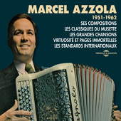 Album artwork for MARCEL AZZOLA 1951-62