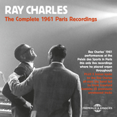 Album artwork for COMPLETE 1961 PARIS RECORDINGS / Ray Charles