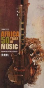 Album artwork for Africa 50 Years of Music