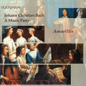 Album artwork for JC Bach: Quintets / Amarillis