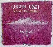 Album artwork for Chopin, Liszt: Piano Sonatas in B Minor / Wu