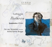 Album artwork for Beethoven: Symphonies No 4 & 5 / Immerseel