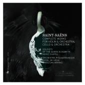 Album artwork for SAINT-SAENS: COMPLETE WORKS FOR VIOLIN & ORCHESTRA